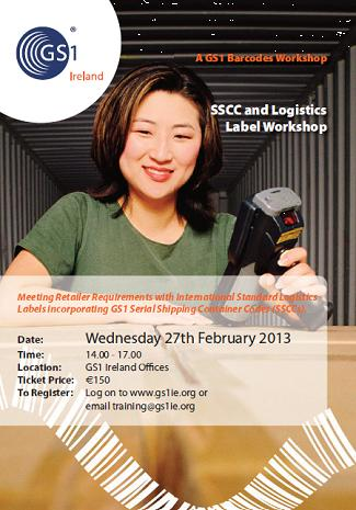 GS1 SSCC Workshop Brochure