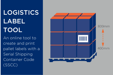 SSCC Logistics Pallet Label Tool