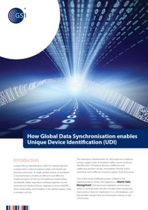 GS1 GDSN, UDI Compliance for the FDA GUDID