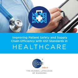 GS1 Ireland Healthcare Brochure Cover Image