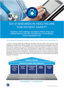 GS1 Standards in Healthcare Cover
