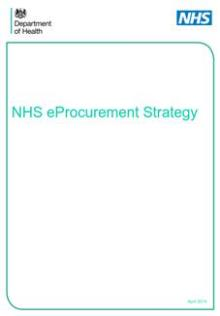 NHS eProcurement Strategy