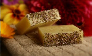 Rose & Alice range produce soaps, bath bombs, and a range of aromatheraphy products