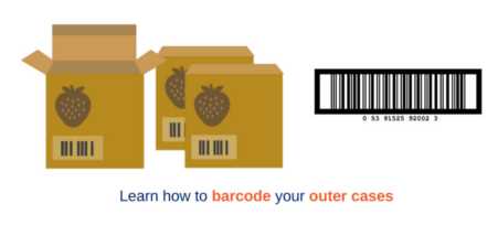 Learn how to barcode outer cases with GS1 Ireland barcode training