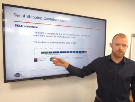 GS1 Ireland SSCC Logistics Label Classroom Training