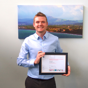 Keith Gallagher of TrueCommerce completes his GS1 System Certificate