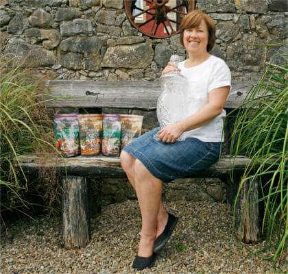 Caroline Rigney of the award winning Rigney's Granola