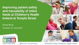 Improving patient safety and traceability of infant feeds at Children's Health Ireland at Temple Street
