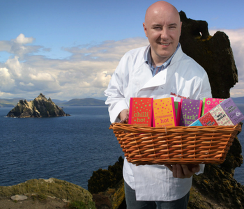 Colm Healy of Skelligs Chocolate
