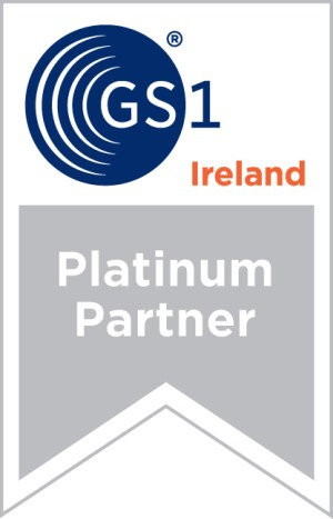 GS1 Ireland Solution Provider Platinum Partner Logo